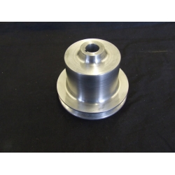 Aluminium Water Pump Pulley - Thin Belt. TR2 -4A, Morgan +4