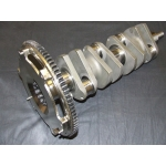 Steel crankshaft and flywheel assembly TR2 - 4A, Morgan +4